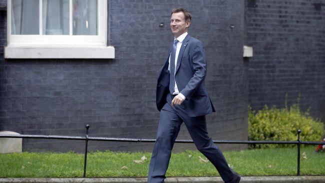 Eks menteri kesehatan dan sosial Jeremy Hunt ditunjuk PM Theresa May menggantikan Boris Johnson sebagai menteri luar negeri dan persemakmuran Inggris.