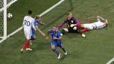 Petualangan timnas Inggris terhenti di babak 16 besar Piala Eropa 2016 setelah dikalahkan Islandia. Berikut ini foto-foto terbaik dari pertandingan tersebut.