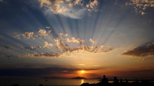 Pria asal Italia yang telah berusia 79 tahun itu memang hidup sebatang kara di pulau indah Isle of Budelli, Italia.