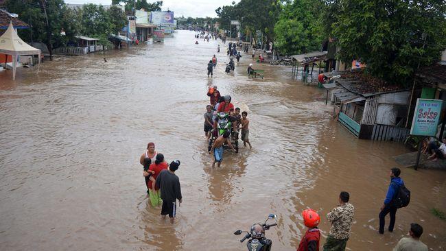 BPBD Jatim Klaim Banjir Pasuruan Karena Penurunan Tanah