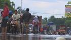 Pantura Macet Akibat Banjir