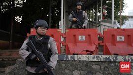 Polisi Geledah Rumah Nur Rohman di Pasar Kliwon Solo