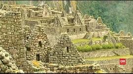 Siluet Manusia Kuno Ditemukan di Machu Picchu