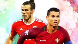 Menakar Kekuatan Bale versus Ronaldo di Piala Eropa