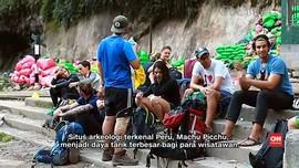 PBB: Turis di Machu Picchu Hasilkan 14 Ton Sampah Setiap Hari