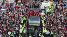 Momen Terbaik Kepulangan Timnas Wales di Cardiff
