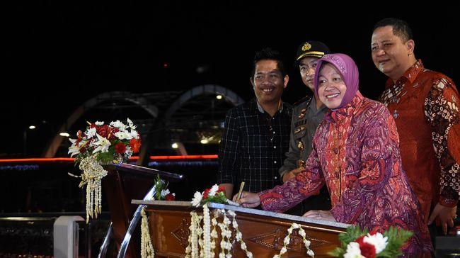 Pemkot Surabaya mengundang Mensos Tri Rismaharini dalam peresmian sejumlah proyek peninggalan yang juga akan jadi gelaran perpisahannya.