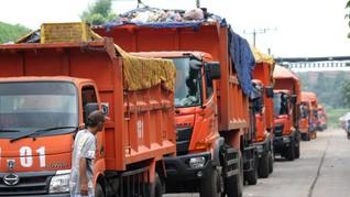 Jakarta Buang 2.142 Ton Sampah saat Lebaran ke Bantargebang