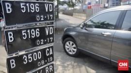Penyakit Akibat Virus Corona Jadi Inspirasi Pelat Nomor Mobil