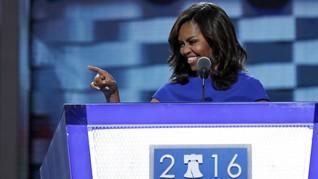 Obama Janji Istrinya Tak Akan Calonkan Diri jadi Presiden AS
