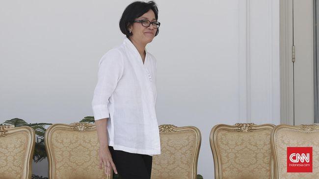Sri Mulyani, Menteri Keuangan pengganti Bambang Brojonegoro. CNN Indonesia/Safir Makki