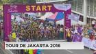 Lomba Balap Sepeda Tour de Jakarta 2016