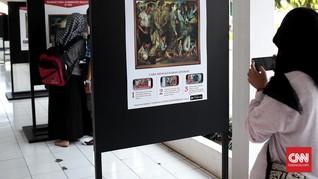 Dekatkan Istana, Jokowi Pamerkan Lukisan Koleksi Bung Karno