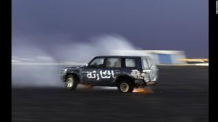 Drifting SUV, Hobi Baru 'Hajwalah' di Timur Tengah