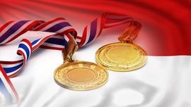 Enam Emas Olimpiade di Lemari Indonesia