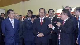 Kunjungan Presiden dan wapres RI ke stand TelkomGroup