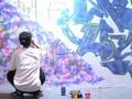 Kepuasan Sandra Penuhi Hasrat Diri Lewat 'Street Art'