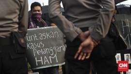 Aksi Kamisan 4 Tahun Jokowi: Agenda HAM Dianggap Tak Penting