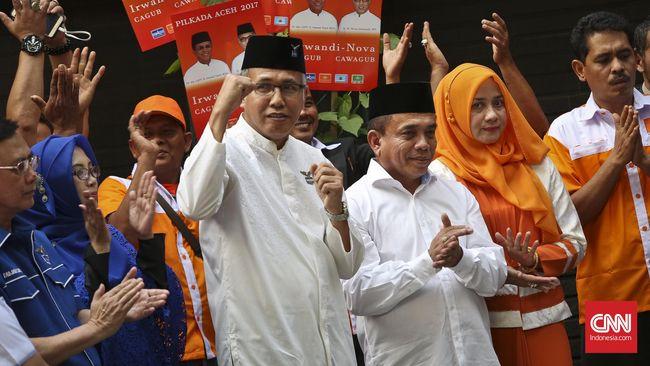 DPR Aceh menyatakan SK pengangkatan Nova Iriansyah sebagai Gubernur Aceh definitif menggantikan Irwandi Yusuf keluar hari ini.