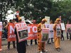 Kala 'Hewan-hewan' Berdemonstrasi di Kementerian Kehutanan