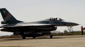 6 Pesawat Tempur F-16 Milik AS Latihan Bareng TNI AU