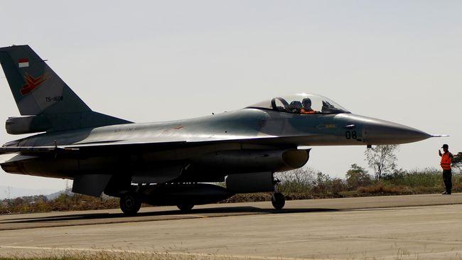 Angkatan Udara AS (USAF) mengerahkan 6 pesawat tempur F-16 untuk menggelar latihan Cope West 2021 bersama TNI AU di Pekanbaru.