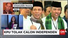 Calon Independen Gagal Berlaga di Pilkada DKI 2017