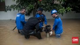 Walhi: Pompa Penyedot Air Tak Ampuh Kendalikan Banjir Jakarta