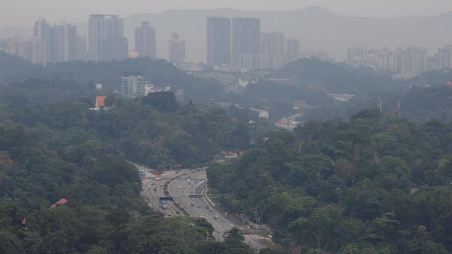 BMKG ASEAN Sebut Kabut Asap dari Indonesia Masuk ke Malaysia