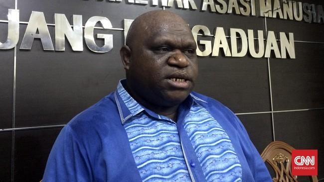 Natalius Pigai Adukan Rasialisme di Tanah Papua ke Menhan AS