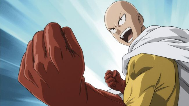 One Punch Man. (Dok. Animax)