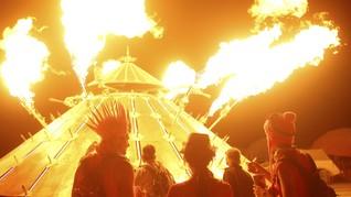 Mobil-mobil Mutan di Burning Man Festival