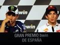 Respons Marquez Soal Perang dengan Lorenzo di MotoGP Spanyol