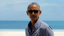 Dengar Lagu Drake, Presiden Obama Luwes Berdansa