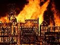 London 'Terbakar' Demi Sebuah Pertunjukan