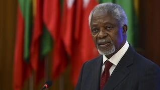 Kofi Annan Tiba di Pusat Konflik Rohingya