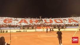 'Garuda Save Palestina', Tribut Pasoepati di Stadion Manahan