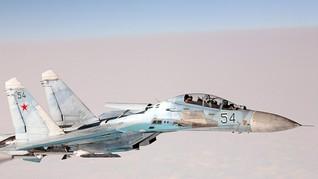 Fakta Jet Tempur Sukhoi Su-27 Rusia yang Usir Pesawat AS