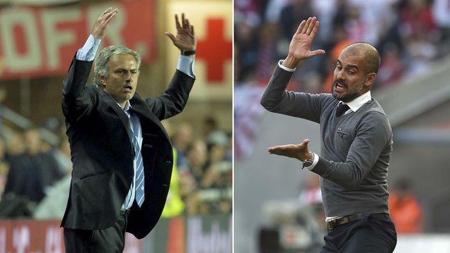 Josep Guardiola menyemprot Jose Mourinho jelang laga Tottenham Hotspur vs Manchester City.