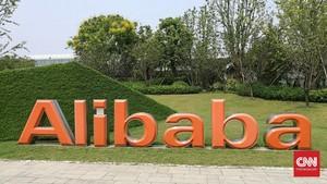 CEO Beri Sinyal Dukung Pemerintah China, Saham Alibaba Naik