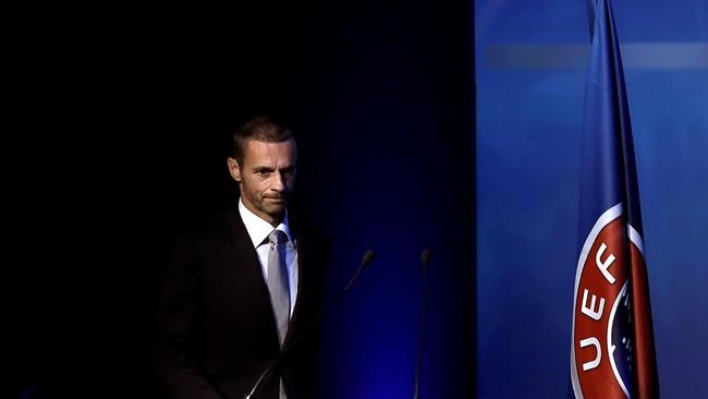 Presiden UEFA Ceferin Diklaim Menaikkan Gaji Sendiri