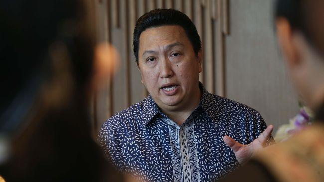 Presiden Direktur dan Chief Executive PT Adaro Energy Tbk Garibaldi (Boy) Thohir bercerita pengalamannya terpapar virus corona pada akhir 2020 lalu.