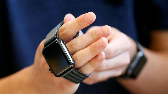 Apple Pimpin Bisnis Perangkat 'Wearable' Dunia