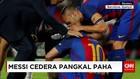 Lionel Messi Diterpa Cedera