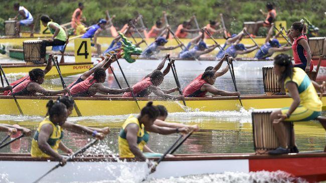Indonesia berhasil merebut dua belas medali emas hingga pukul 15.17 WIB pada hari kedelapan SEA Games 2019 di Filipina, Minggu (8/12).