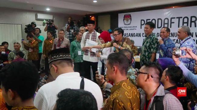 Tiga Pasangan Calon Gubernur Ramaikan Pilkada Jakarta
