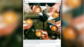 Tren 'Coffee in a Cone' Makin Menggila di Instagram