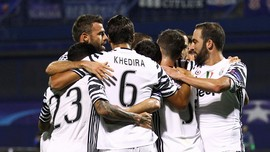 Juventus Pesta Gol di Kandang Zagreb