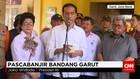 Presiden Joko Widodo Tinjau Penanganan Banjir Garut