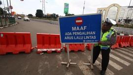 Daftar Pengalihan Lalu Lintas Jelang Demo di Istana Hari Ini